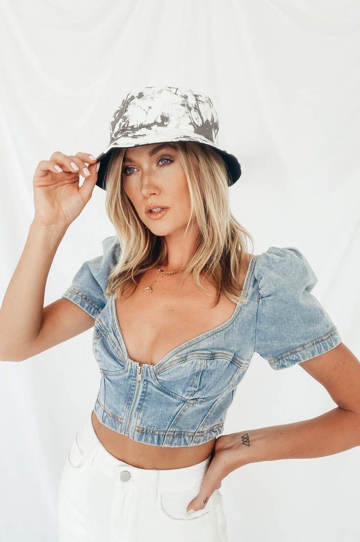 Denim Daze Top