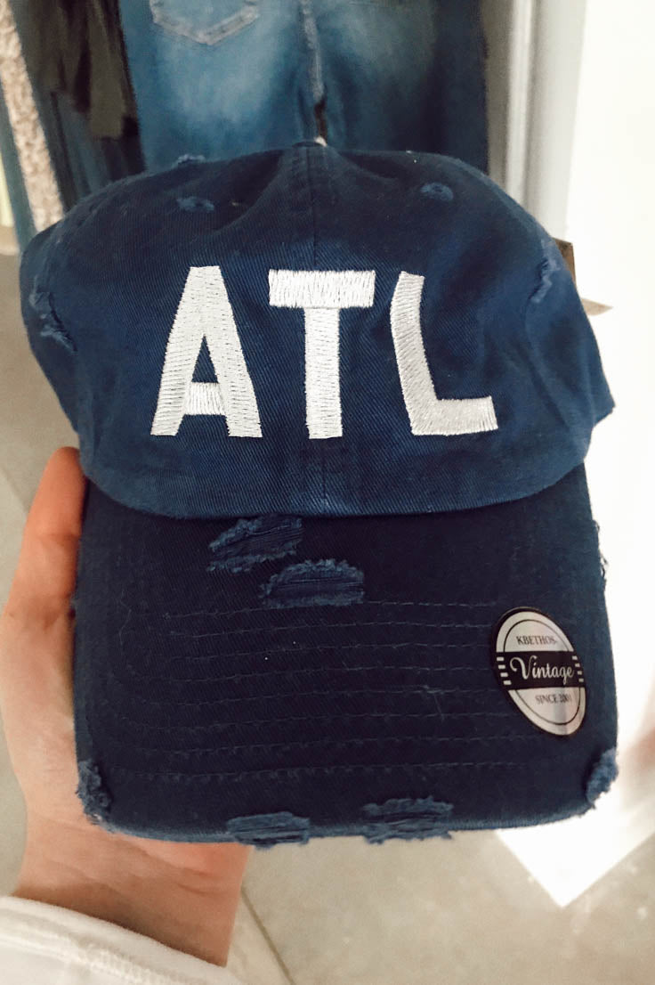 ATL Distressed Hat