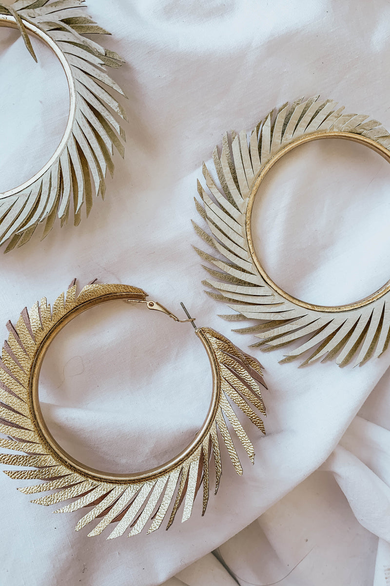Fringe With Benefits Hoops