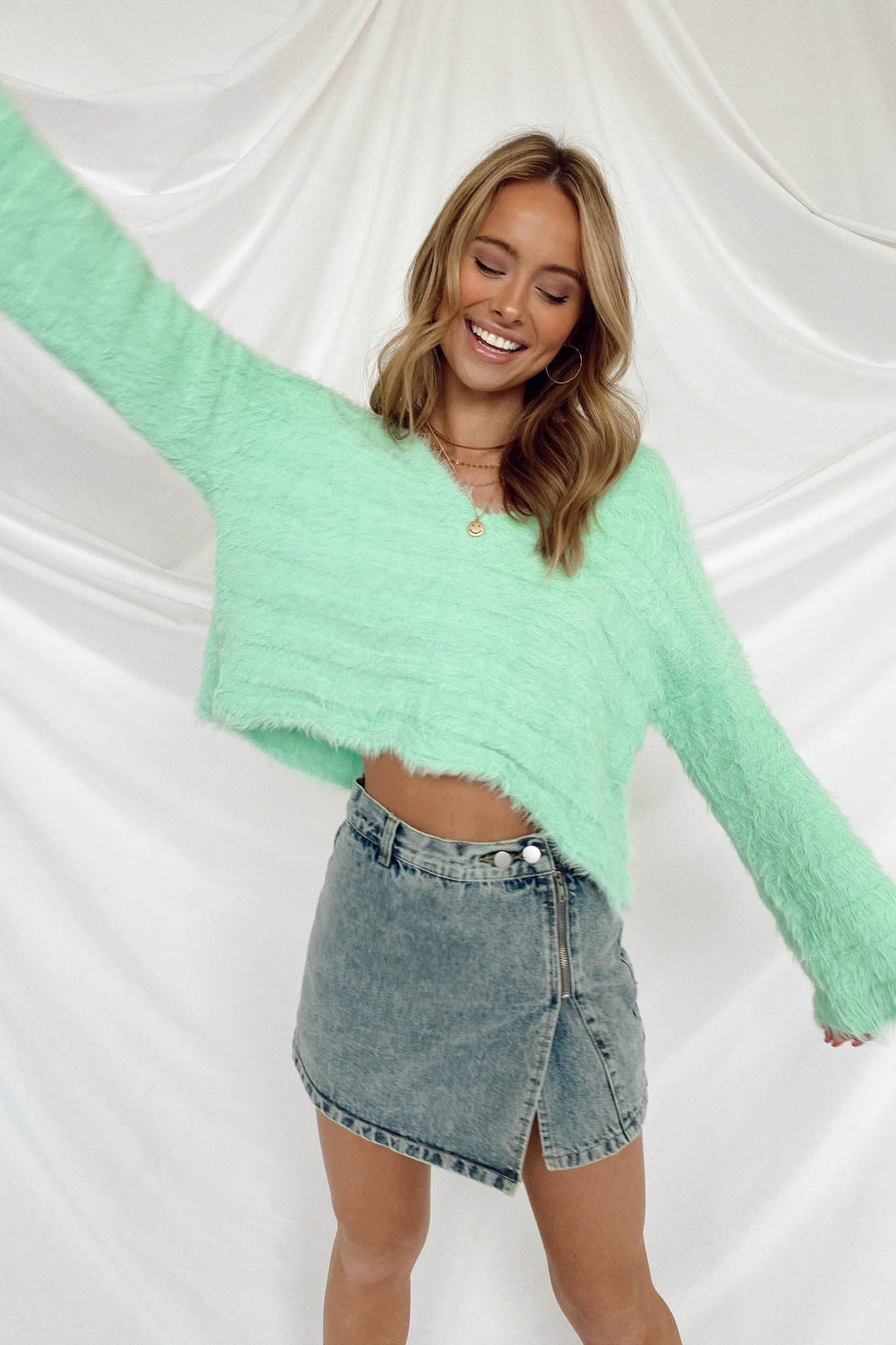 Sweet Mint Sweater