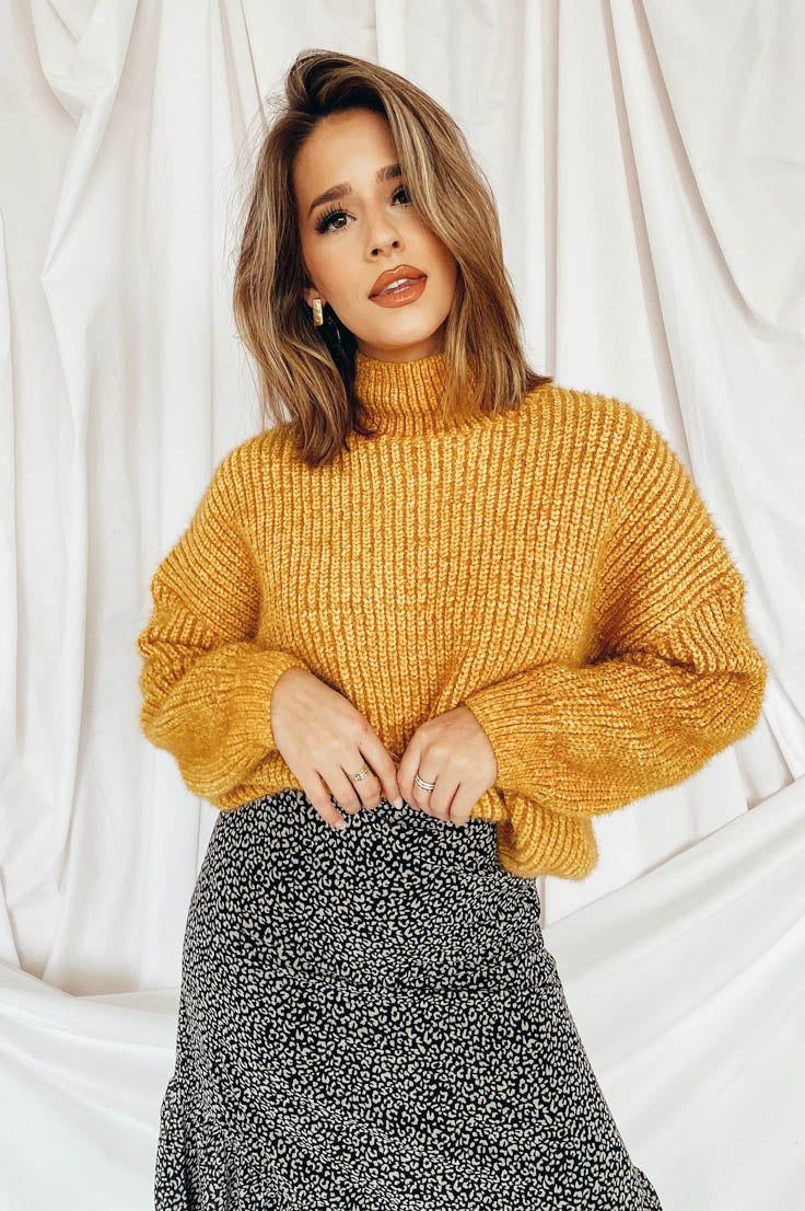 Good as Gold Sweater
