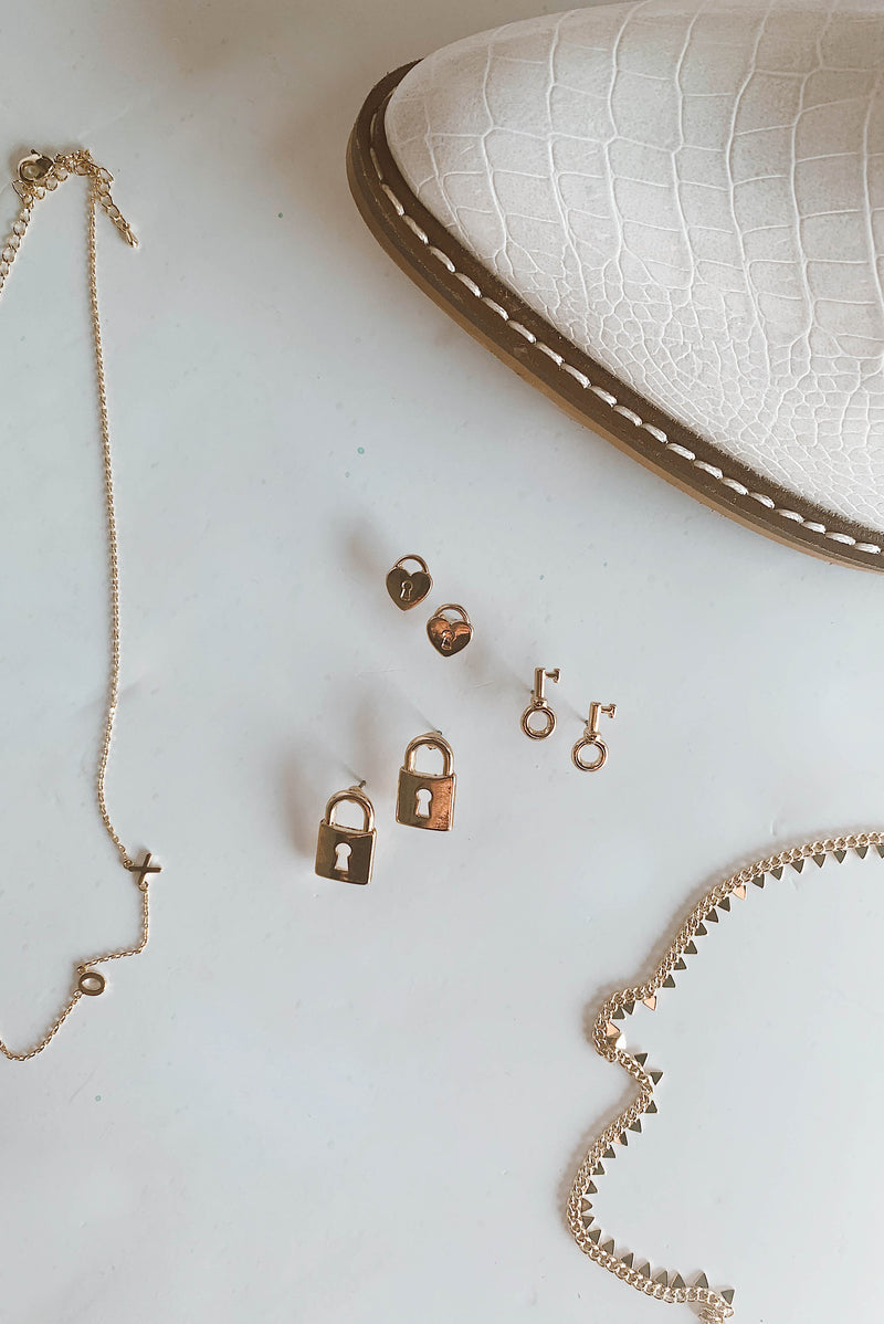 Perfectly Matched Earring Set