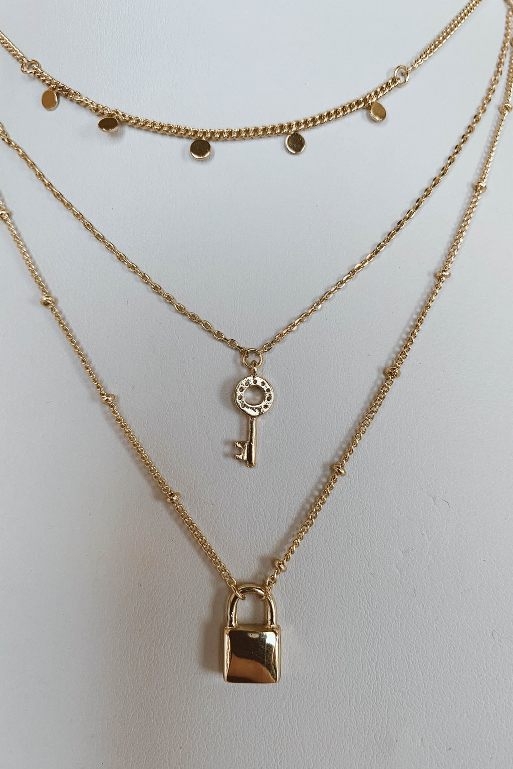 Locks of Love Necklace Set