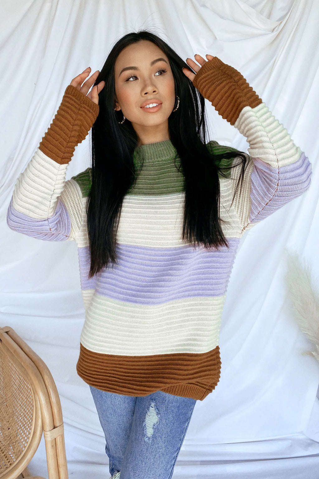 In Living Color Sweater