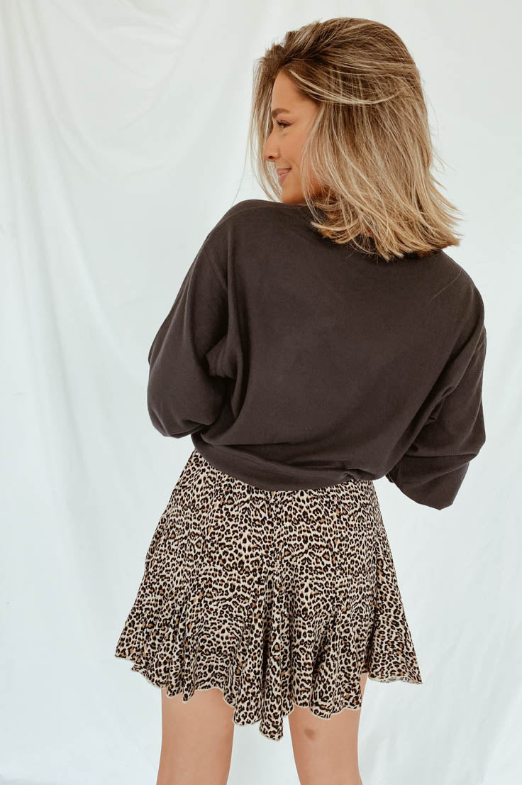 Lovely Leopard Skirt