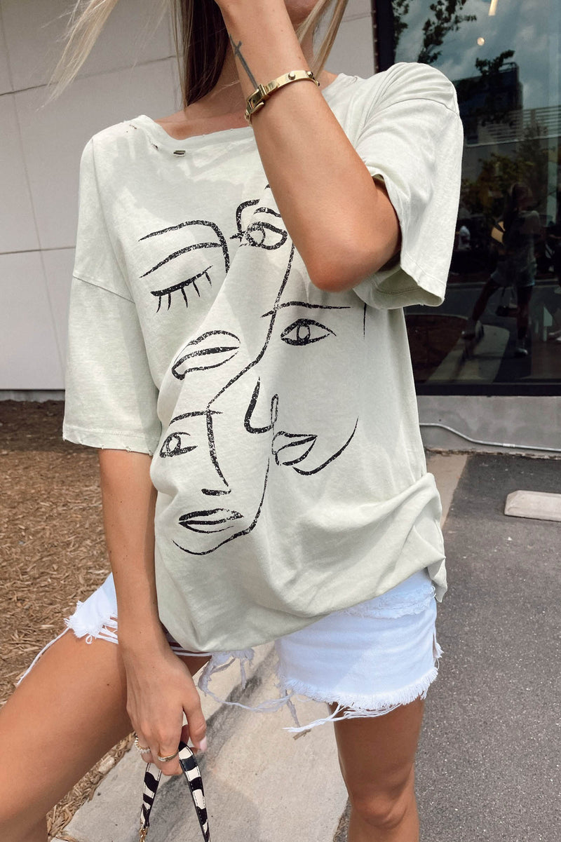 Face to Face Tee