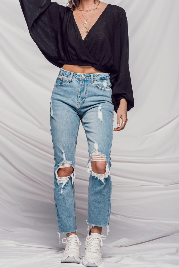 All Season Long Denim in Light Wash