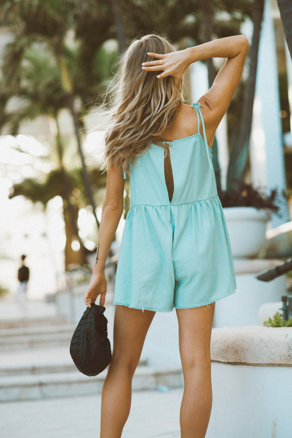 Back in a Mint Romper