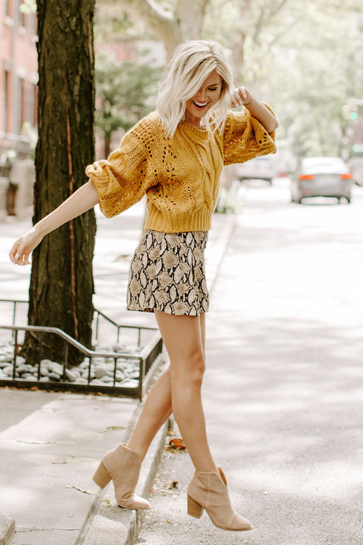 Rumors are True Sweater