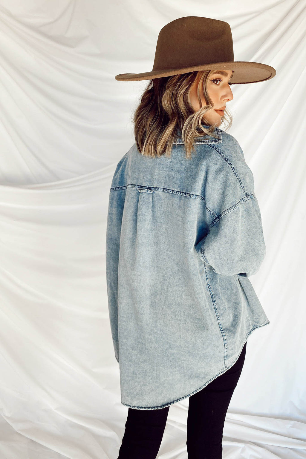Yellowstone Denim Top