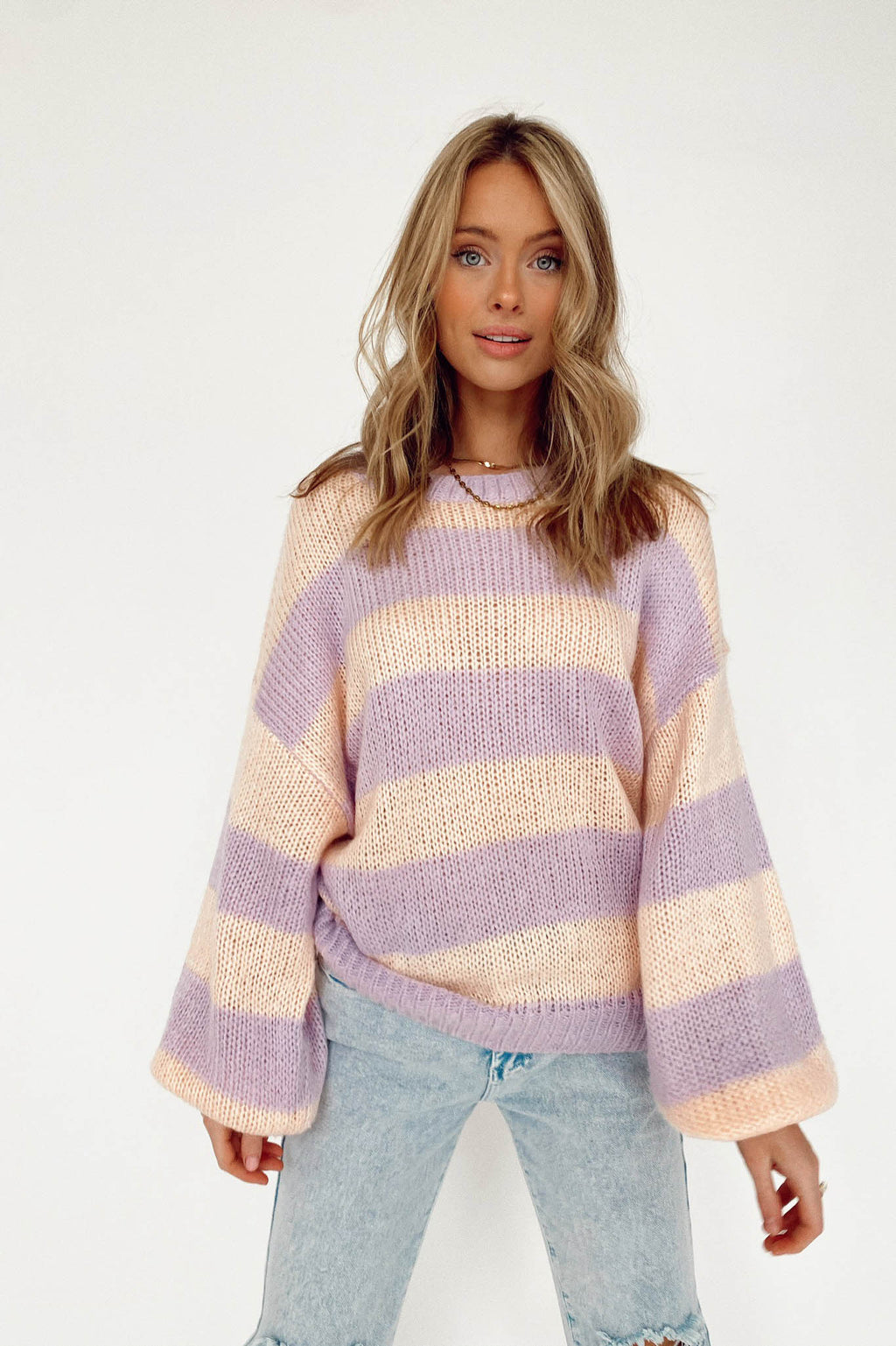 Striped in Sweetness Sweater