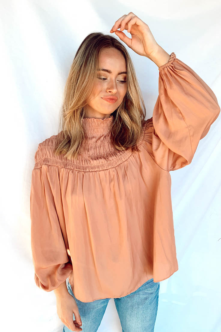 Always Hopeful Blouse- Pink
