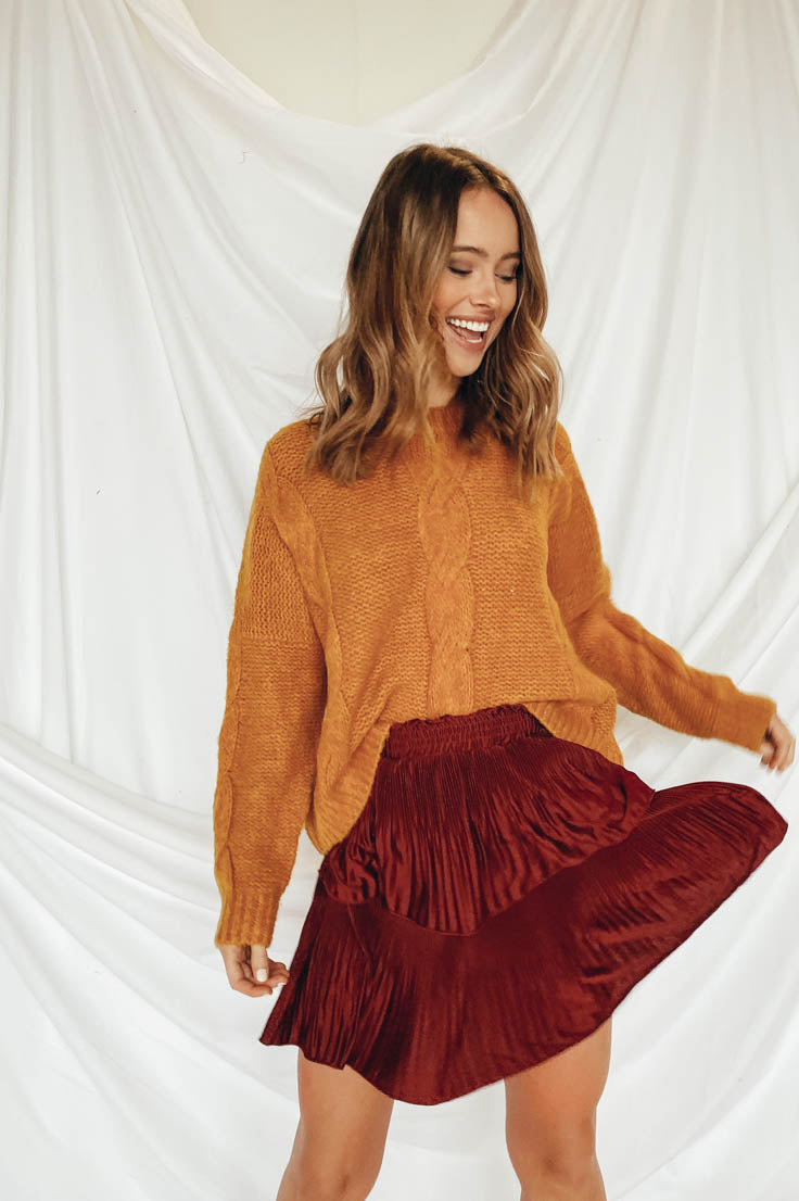 Ruffled and Ready Skirt