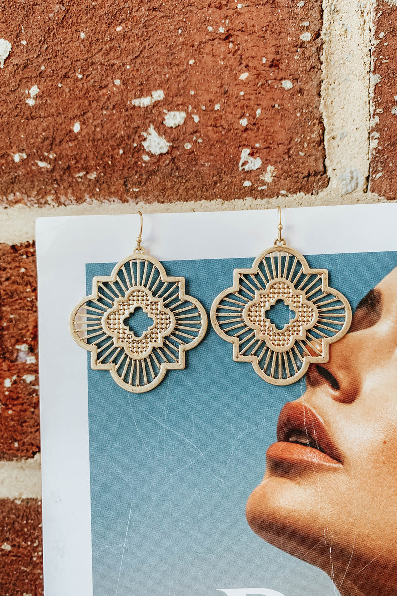 Ray-diance Earrings