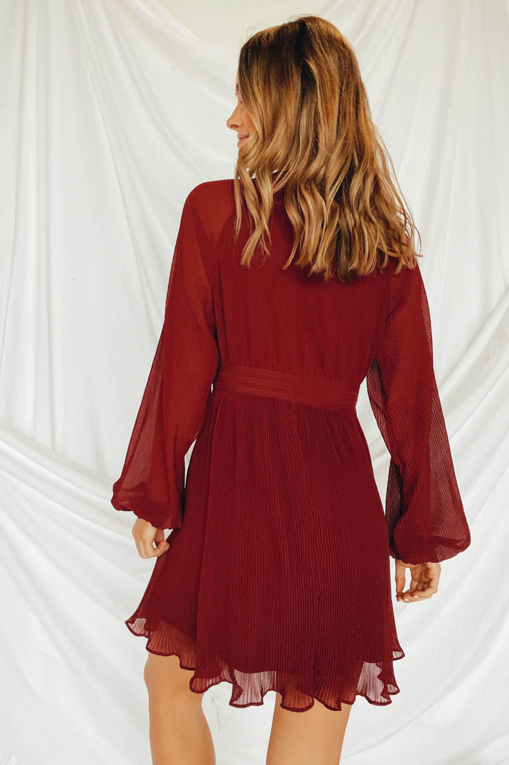 Take the Plunge Dress