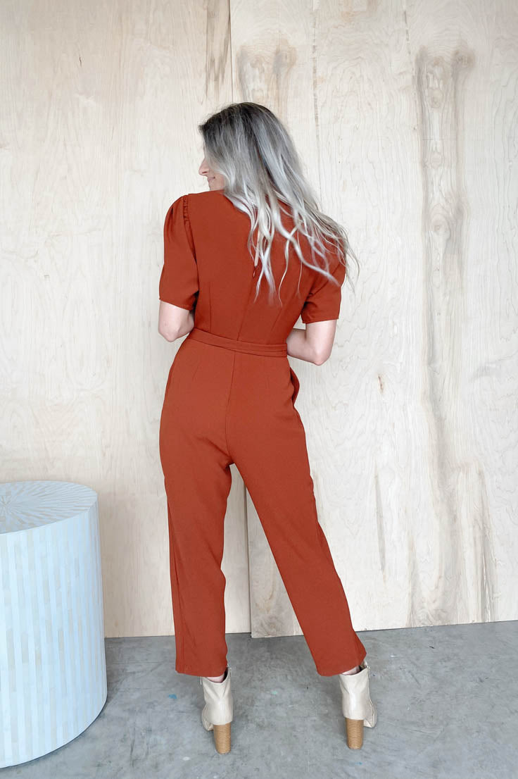 Middle of the Road Jumpsuit