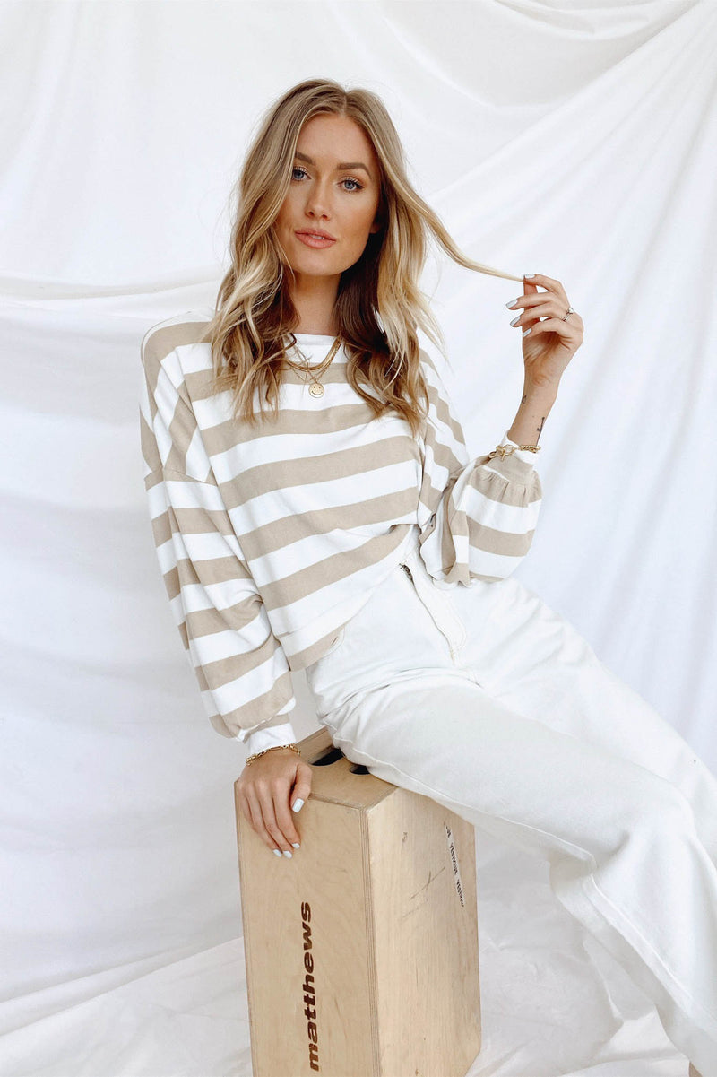 Shelli Striped Top
