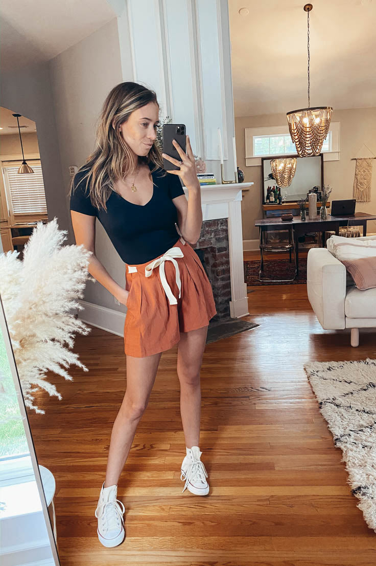 Terracotta Sunset Shorts