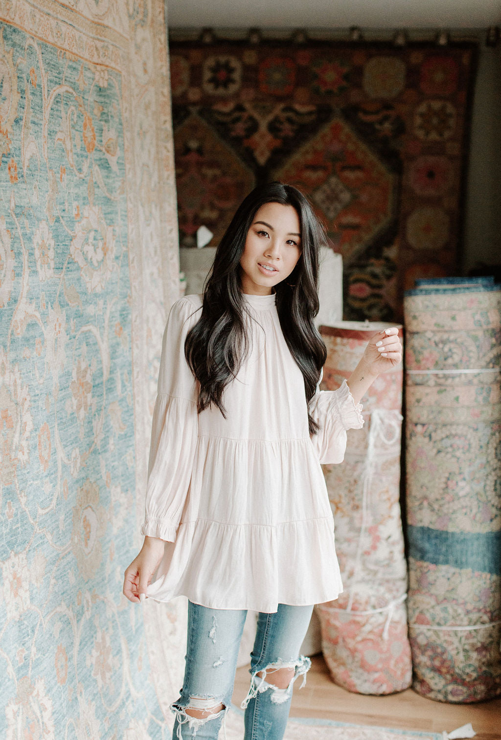 All the Frills Tunic