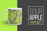 Sour Apple Mug made in the USA
