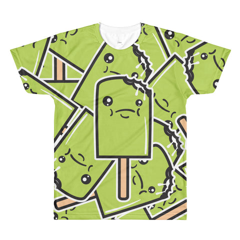 *Sour Apple All-Over Printed T-Shirt