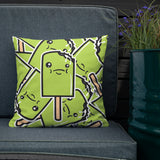 Sour Apple Square Pillow