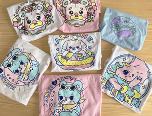 kawaii pastel t shirts