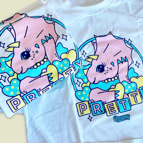 Pretty Triceratops T-shirt -20% OFF