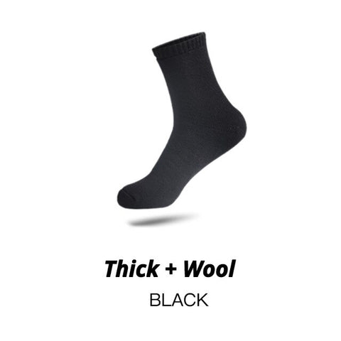 HSS Brand Thicken Men's Cotton Socks Keep Warm Floor Fluffy Socks Thermal Solid Color Winter Thick Socks For Man High Quality