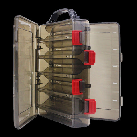 WALK FISH Fishing Lure Box Double Sided Tackle Box Fishing Lure Egi Squid Jig Pesca Accessories Box Minnows Bait Fishing Tackle
