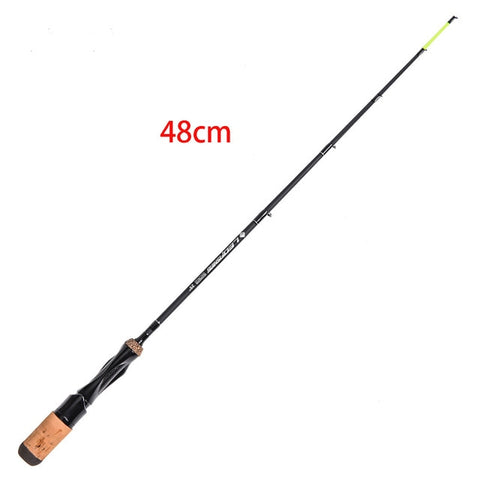 2020 new Portable Winter Ice Fishing Rods Spinning Casting hard Rod Tackle