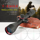 T-EAGLE  4-16x44SFIR Tactical Optical Sniper Riflescope Long Eye Relief Rifle Scope Shotgun Sight Pistola Aria Compressa Hunting