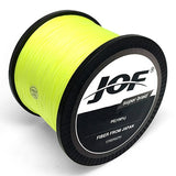 JOF 8 Strands 1000M 500M 300M PE Braided Fishing Line Japan Multicolour Saltwater Fishing Weave Superior Extreme Super Strong
