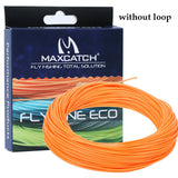 Maximumcatch 1-9wt Weight Forward Floating Fly Fishing Line 100FT Multi Color Fly Line with Line Spool