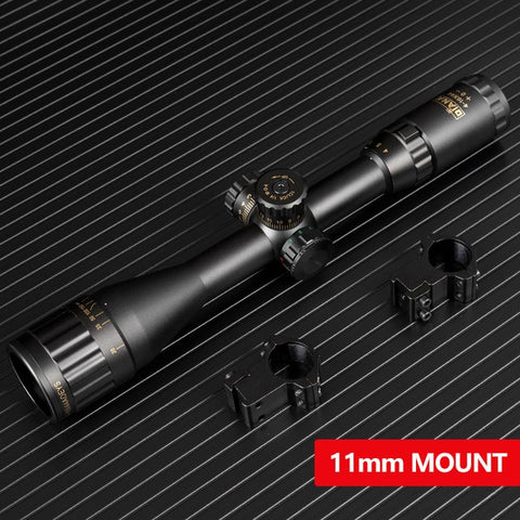 4-16x44 Tactical Optic Cross Sight Green Red Illuminated Riflescope Hunting Rifle Scope Sniper Airsoft Air Guns