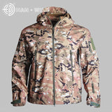 2020 Hunting clothes Outdoor Shark Skin tad v4 Tactical millitary Softshell Jacket Suit Men Waterproof Combat Jacket