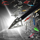 Arrows Tips Arrow Heads for Archery Hunting Apply to Composite bow and Crossbows and Recoil Arrow Broadheads  6sell/support mix