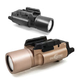 SOTAC-GEAR Tactical X300 LED Weapon Light Flashlight Pistol Gun Rifle Picatinny 20mm Weaver Mount For Hunting Scope