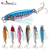 Metal Jig Fishing Lures 2019 Bass Fishing Bait Weights 16-34g Jigs Saltwater Lures Long Shot Isca Artificial
