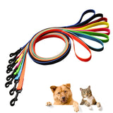 Dog leash dog collar PVC Waterproof dog lead leashes anti dirty easy to clean for Big small dogs puppy collar leash pet products