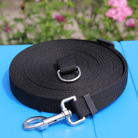 Pet Dog Lead Leash for Dogs Cats Nylon Walk Dog Leash Selected Size 1.5M 1.8M 3M 6M 10M Outdoor Security Training Dog Harness