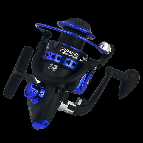 WALK FISH Professional Fishing Wheel 13 BB 5.1:1 speed reatio spinning fishing reel interchanged left/right handle wheel