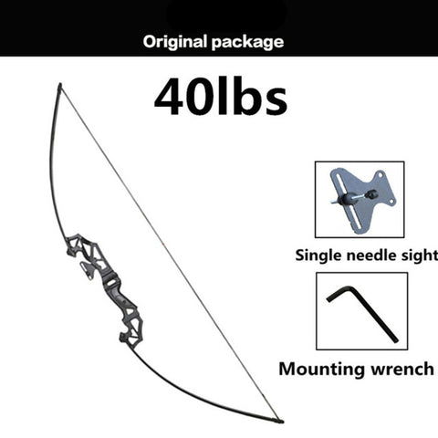 30-50LBS Metal handle bow Recurve Bow for Right Handed Archery Bow Shooting Hunting Game Practise tool Russian buyer can buy