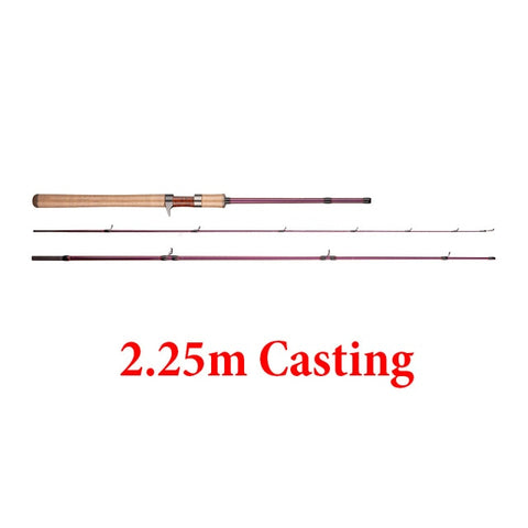 Obsession Trout Fishing Rod 1.68m 1.8m 1.98m 2.1m 2.25m L Action Small Game Spinning Casting Rod Baitcasting Fishing tackle
