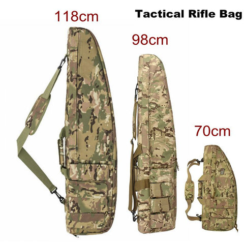 118 cm 98CM High Density Nylon Rifle Case Bag Tactical Military Bag Airsoft Holster Gun bag Rifle Accessories Hunting Backpack