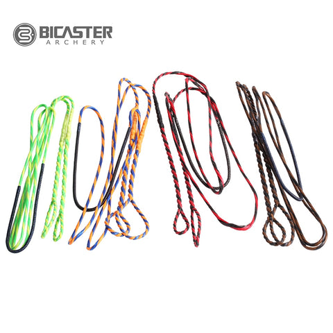 "Bicaster Bow String 16 Strands 60"" 62"" Flemish Twist DYNAFLIGHT 97 String"