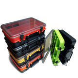 2020 Large-Capacity Double-Layer Fishing Tackle Box Multifunctional Carp Fishing Accessory Storage Box Portable Fishing Bait Box
