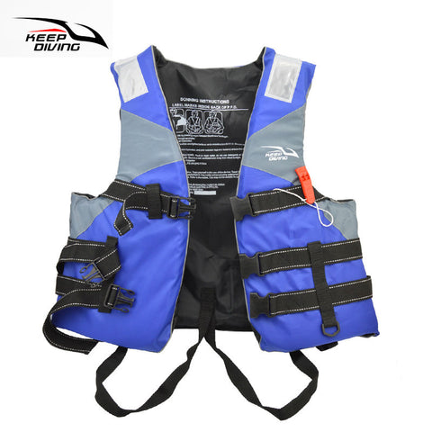 Professional Safety Life Jacket PFD Foam Float Vest For Adult Water Ski Sports Surfing Rafting Boat Canoe Kayak Fishing Sailing
