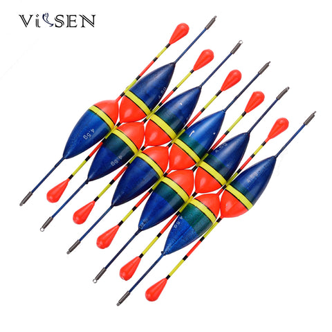 Vissen bobber Fishing Floats Set Buoy Bobber 5g 10pcs plastic float  Fishing Bobber Cork Float Antenna peche lot