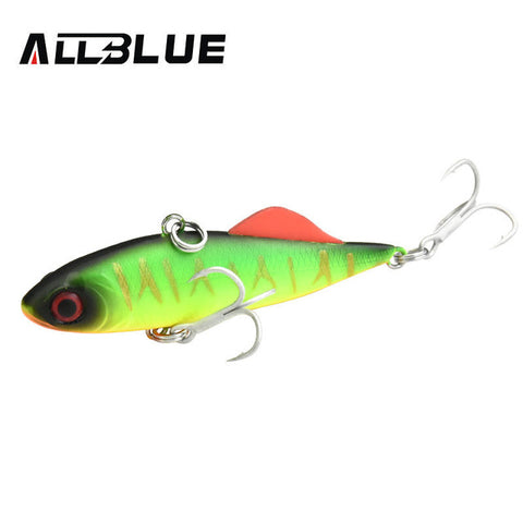 ALLBLUE BETA VIB 60S Sinking Vibration Fishing Lure Hard Plastic Artificial VIB Winter Ice Jigging Pike Bait Tackle Isca Peche